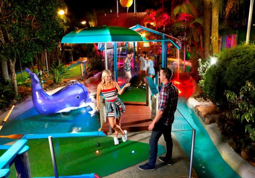 Putt Putt Golf's 50th Birthday Party!
