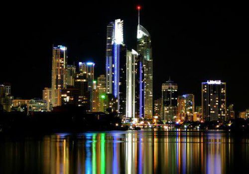 Night time delights on the Gold Coast