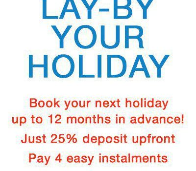Lay-by your next Gold Coast holiday!